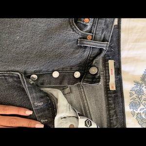 Levi's Jeans - Size 28 Gray Wedgie Levi Jeans